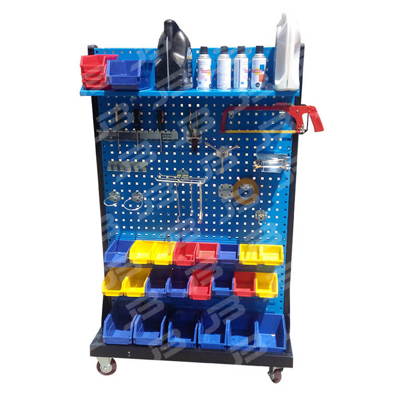 Movable Material Pegboard Tool Storage For Workshop