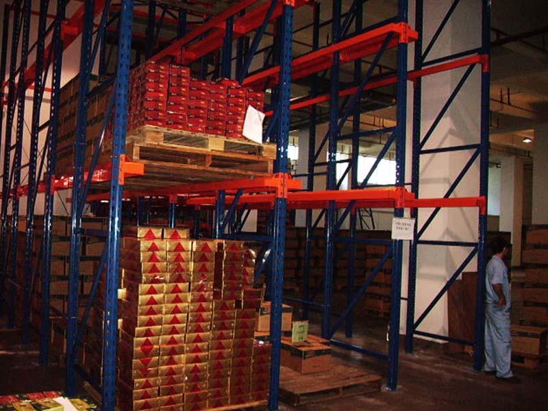 Industrial Warehouse Racks Project